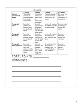 3rd Grade Earth, Sun, & Moon 5E FREE Lesson Plan