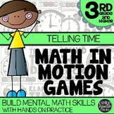 3rd Grade Elapsed Time Games | Hands-On Learning for Workshop & Centers