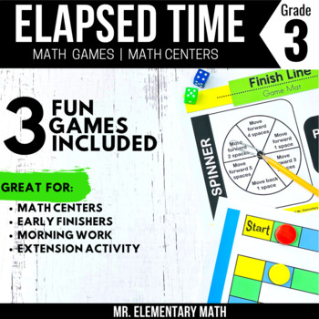 3rd Grade Elapsed Time Games and Centers