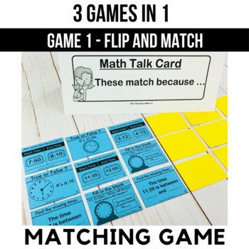 Elapsed Time Games and Centers 3rd Grade