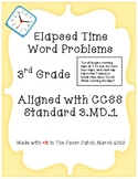 3rd Grade Elapsed Time Word Problems!