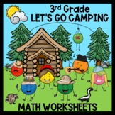 3rd Grade Math Worksheets - Word Problems, Time, Elapsed T
