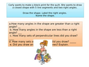 3rd Grade End of Year Math Performance task 2015 version