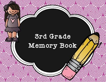 3rd Grade End of Year Memory Book