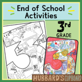3rd Grade Digital End of Year Memory Book Distance Learnin