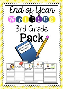 End of Year: 3rd Grade Writing Activity