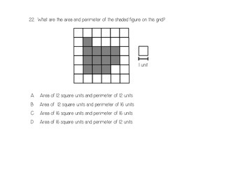 3rd Grade End of the Year Math Assessment