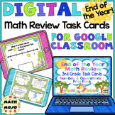 3rd Grade End of the Year Math Digital Task Cards: 3rd Grade (NF Standards)