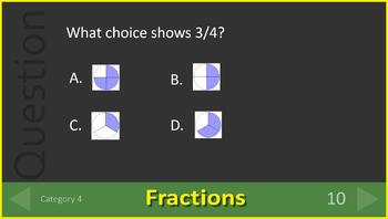 3rd Grade Test Prep Math Game Spiral Review Common Core Smarter Balanced