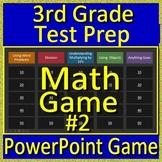 3rd Grade Math Game Multiplication and Division CAASPP, Smarter Balanced, PARCC