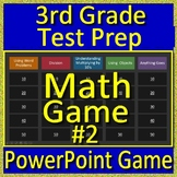 3rd Grade Test Prep Math Game Multiplication and Division Smarter Balanced PARCC