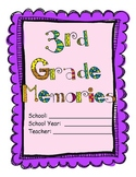 3rd Grade - End of the Year Memory Book