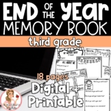 3rd Grade End of the Year Memory Book | NOW DIGITAL