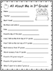 3rd Grade End of the Year Packet