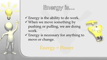 3rd Grade - Energy Systems Career Cluster PPT