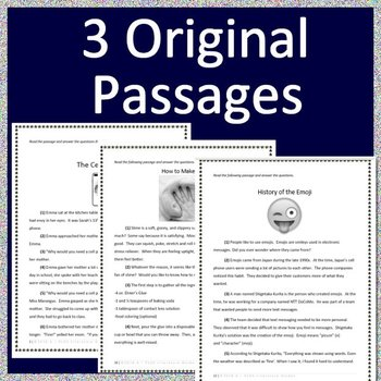 3rd Grade Engage Ny Test Prep Practice Tests Ela New York State Tpt