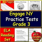 3rd Grade Engage NY ELA Test Prep Practice for New York State