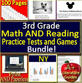 3rd Grade Engage NY Math AND Reading BUNDLE! Practice Tests and Games - NY