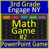 3rd Grade Engage NY Math Test Prep Jeopardy Game for New York - #2