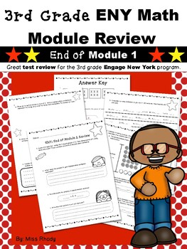 3rd Grade Engage New York (ENY) Math Module Review END of Module 1