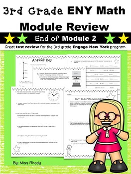 3rd Grade Engage New York (ENY) Math Module Review END of Module 2