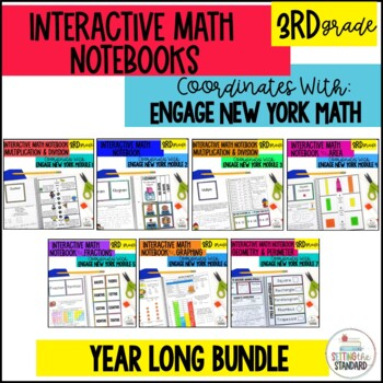 3rd Grade Engage New York Interactive Notebook BUNDLE