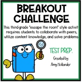 CHALLENGING** 3rd Grade English/Language Arts Breakout! (Review and test prep)