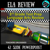 3rd Grade English Language Arts Review PowerPoint - Test Prep
