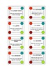 3rd Grade English Language Arts Vocabulary - I Have, Who Has