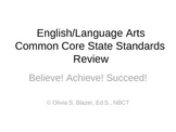 3rd Grade English/Language Arts Common Core Comprehensive