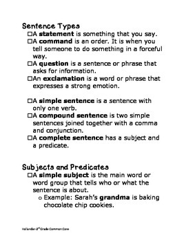 3rd Grade English/Language Arts Review Guide