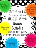 ENTIRE Year-31 Game Math BUNDLE-Multiplication, Division,