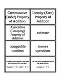 3rd Grade Envision Math Topic 2 Vocabulary Supplemental