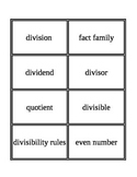 3rd Grade Envision Math Topics 6 & 7 Vocabulary Supplemental
