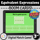 3rd Grade Equivalent Expressions Properties Match | CCSS 3