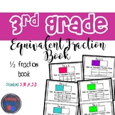 3rd Grade Equivalent Fraction Book (3.NF.A.3.B)
