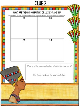 3rd Grade-Escape the Multiplication Mummy - A Multiplication Breakout Project