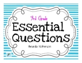 3rd Grade Essential Questions Posters