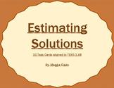 3rd Grade Estimating Solutions Task cards - TEKS 3.4B