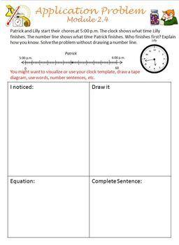 3rd Grade Eureka Math Application Problems for All Modules 1-7