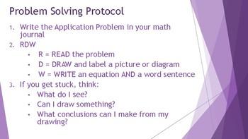 3rd Grade Eureka Math / Engage NY Application Problems: Module 3