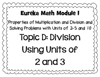 Eureka Math Focus Wall Posters