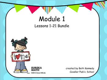 3rd Grade Eureka Math - Module 1 Bundle