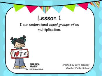 3rd Grade Eureka Math - Module 1 - Lesson 1