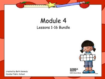 3rd Grade Eureka Math - Module 4 Bundle