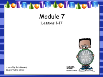 3rd Grade Eureka Math - Module 7 - Lessons 1-17