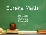 3rd Grade: Eureka Module 1, Lesson 9 PowerPoint