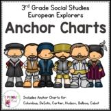 3rd Grade European Explorers Anchor Charts