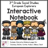 3rd Grade European Explorers Interactive Notebook