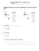 3rd Grade Everyday Math 4 (2015) Study Guide/Pretest Pack